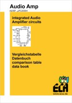 Datenbuch für integrierte Audioverstärker - Data book for integrated audio amplifier