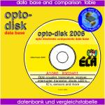 Datensammlung für optoelektronische Bauteile wie Optokoppler, Optotransistoren, Optische Sender und optische Empfänger - Data base for opto electronic components like coupler, receiver, sender, transistor etc.