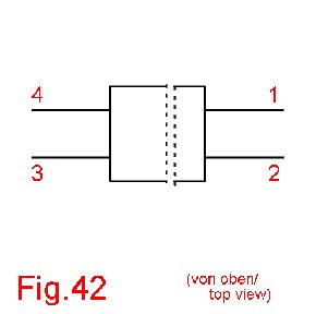case outline drawing of 1N4242