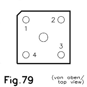 case outline drawing of 10D4B41